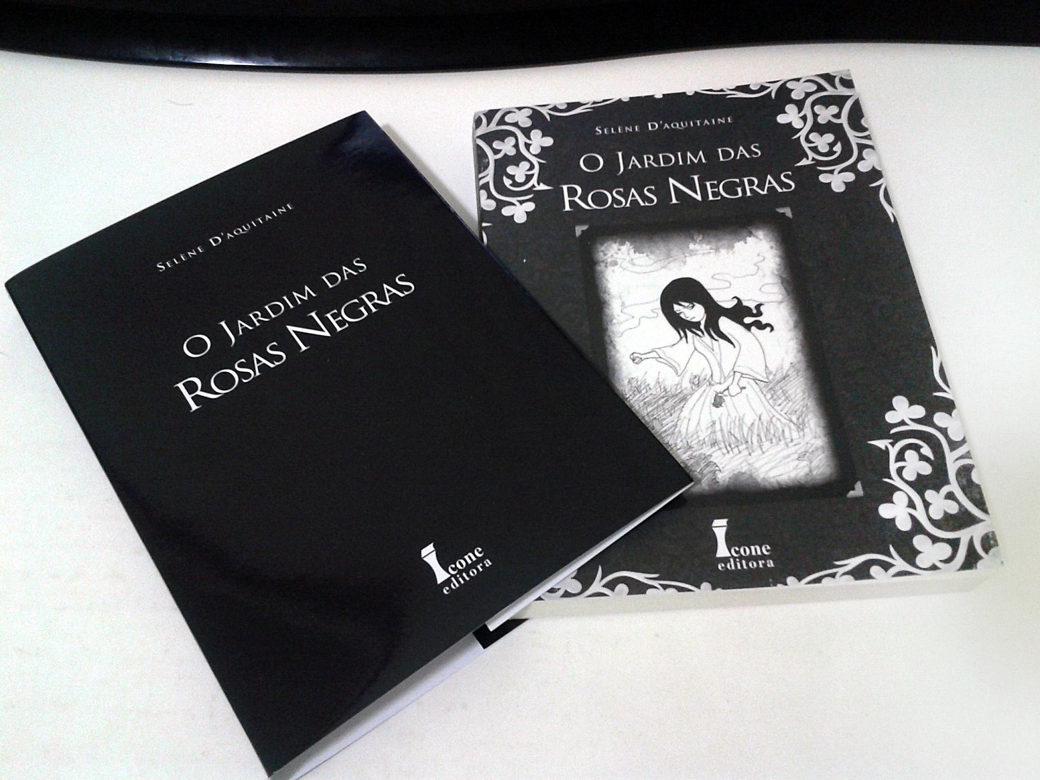 livro O Jardim das Rosas Negras  Selène dAquitaine