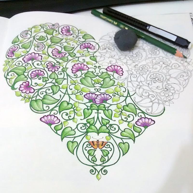 ideias para pintar livro jardim secreto : ideias para pintar livro jardim secreto:Recomendo muito para todos que gostam dessa sensação de dar cor aos