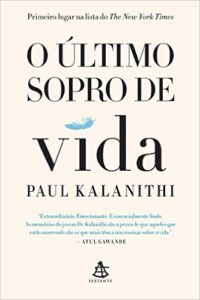 o último sopro de vida - paul kalanithi